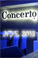 CONCERTo pub nye 2013 party