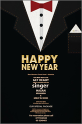 Best Western Grand Hotel New year party in Madaba
