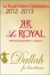 le royal multiple NYE events in amman