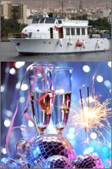 cruise ship in aqaba new year eve