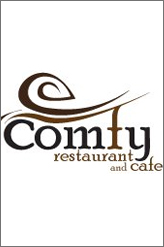 comfy cafe new year party