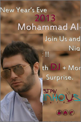 MOHAMMAD qaq new year party