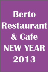 NEW YEAR EVE AT BERTO CAFE