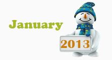 january 2013 icon