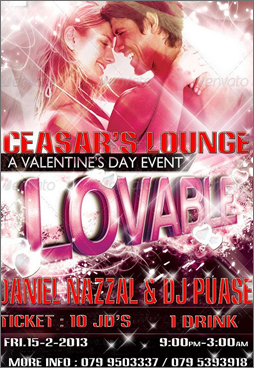 ceasars lounge valentines party