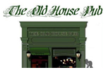 Old house pub logo