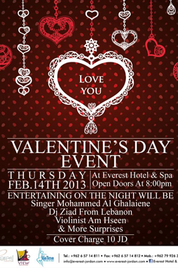 valentines party at everest hotel