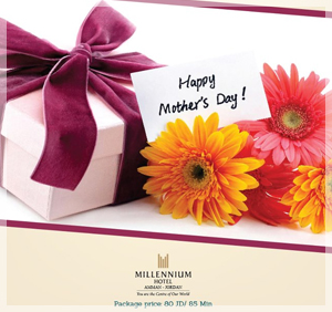 mothers day offer from millennium hotel