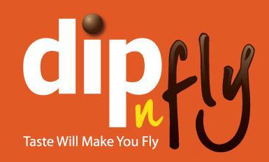 dip and fly logo