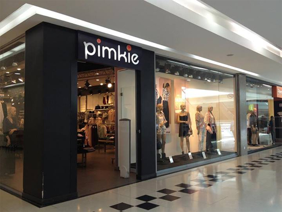 pimkie store inside city mall