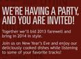 حفل ليلة رأس السنة 2014 في ????