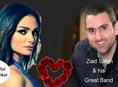 Reine Achkar and Ziad Saleh Valentine's Party at Decanter Lounge
