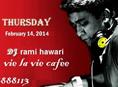Valentine's DJ Party at Vie La Vie Cafe