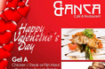 VAlentine's Dinner @ Bianca Cafe