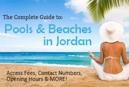 a guide to pools and beaches during summer in jordan