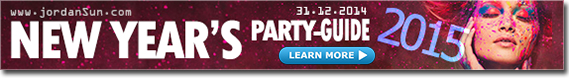 A list of all New Year's 2015 Parties in Amman & Jordan
