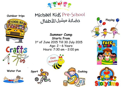 Michael Kids Pre-School Summer Camp