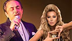 melhem barakat and maya diab new year party 2016 in jordan