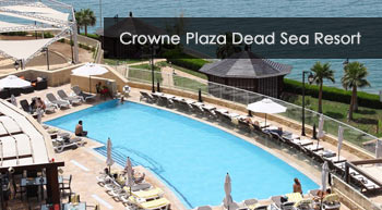 crowne plaza deadsea pool and beach