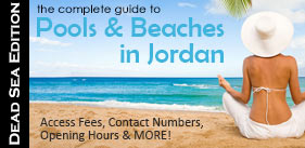 a guide to pools and beaches during spring in deadsea