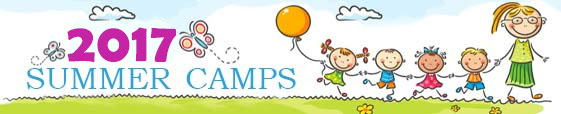 banner of 2017 summer camps for kids and students in jordan