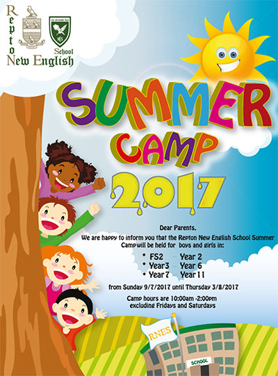 new english schools summer camp