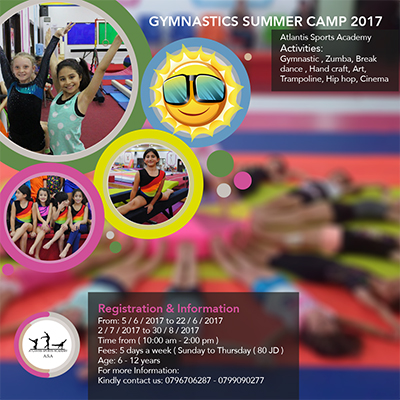 summer camp at Gymnastics Sports Center