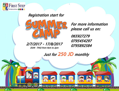 summer camp at First Step KG