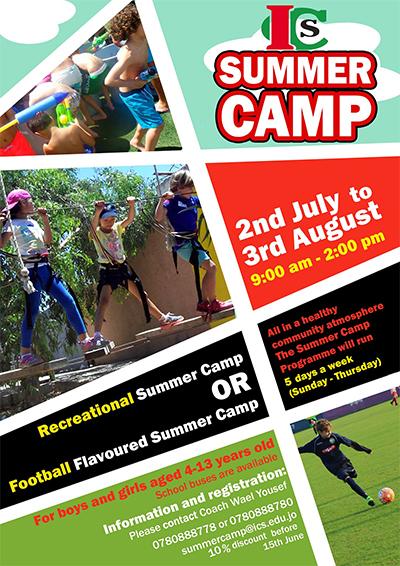 ics summer camp 2017