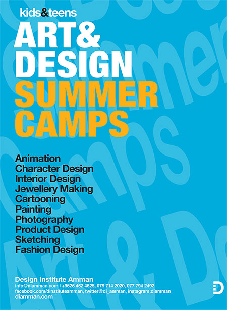 Design Institute Amman  summer camp