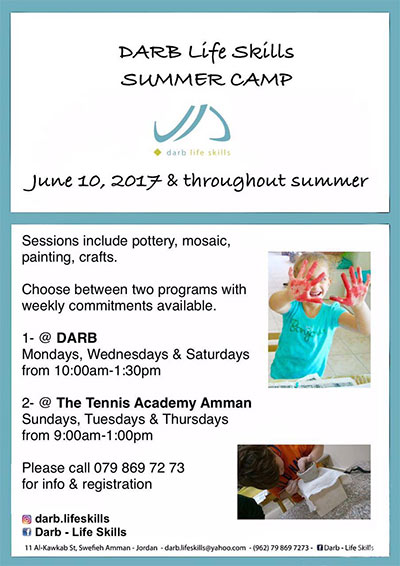 summer camp at Darb Life Skills