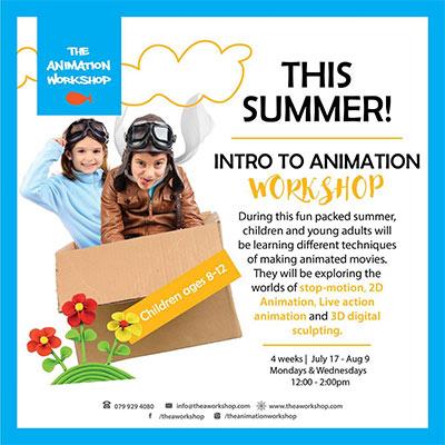 Animation Workshop summer camp 2017