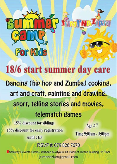 jumpnaziam summer kids camp