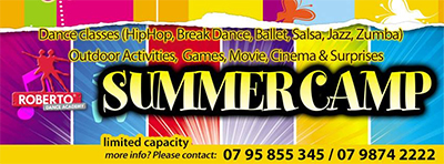 summer camp at Roberto Dance Academy - Jordan