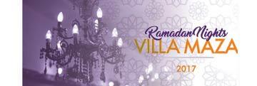 villa maza ramadan tent