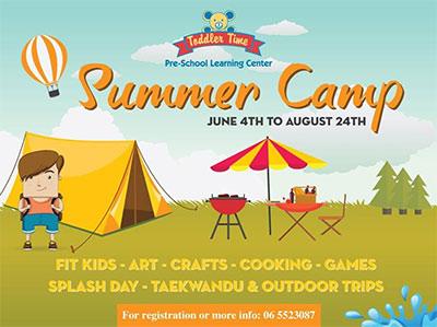 summer camp at Um Toddler Time Kindergarten
