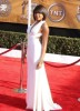 Taraji P Henson on the red carpet of the 15th Annual Screen Actors Guild Awards held at the Shrine Exposition Center in Los Angeles  California on the 25th of January 2009
