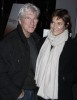 Richard Gere and his wife Carey Lowell at the Riverkeeper's Reflected Light IV auction and cocktail party in New York City on the 27th of January 2009