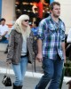 Anna Faris and her boyfriend Chris Pratt shopping together in Hollywood on the 28th of January 2009