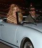Nicole Kidman and Daniel Day Lewis on the set of the new musical film Nine