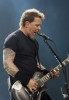 James Hetfield latest live performance pictures on stage
