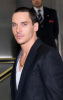 Jonathan Rhys Meyers arrives at the launch of Hugo Boss's new fragrance