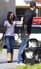 Megan Fox and boyfriend Brian Austin Green and his six years old son Kassius Lijah