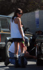 Ashley Tisdale at a local gas station in Los Angeles, California