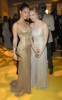 Melissa George and Megan Fox at the Golden Globe Awards 2009