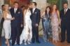 Gabriela Bo at her wedding to Cristian Castro