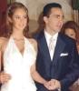 Gabriela Bo with her ex-husband Cristian Castro