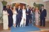 Gabriela Bo at her wedding to ex-husband Cristian Castro