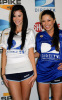 Jayde Nicole and Pilar Lastra at the DirectTV's 3rd Annual Celebrity Beach Bowl at Progress Energy Park on January, 13th, 2009