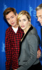 Kate Winslet and David Kross attend a photo call for the film the reader